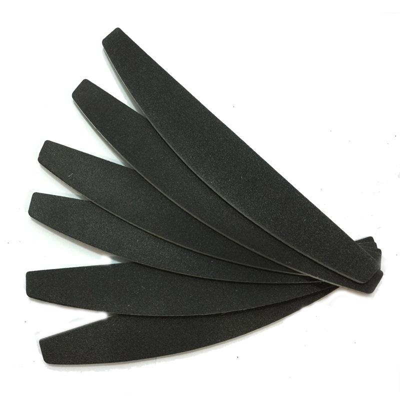 Пилка чёрная 100/180 (банан) Китай уп.25шт