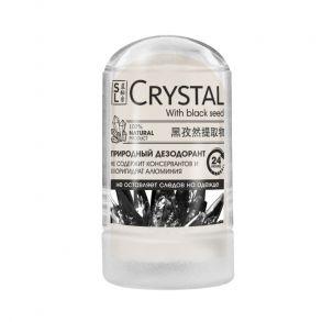 Дезодорант минеральный для тела с с черным тмином, 60г, ''CRYSTAL Deodorant Stick''