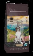 LANDOR DOG SENIOR&ADULT Сухой корм для пожилых и взрослых собак с функцией улучшения мозговой деятельности, 1 кг