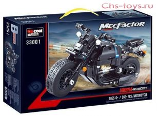 Конструктор Decool Technic Мотоцикл 33001 (Аналог LEGO Technic) 265 дет