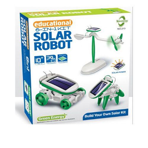 Конструктор SOLAR ROBOT KITS 6 В 1