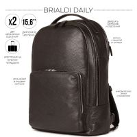 Мужской рюкзак BRIALDI Daily (Дейли) relief brown