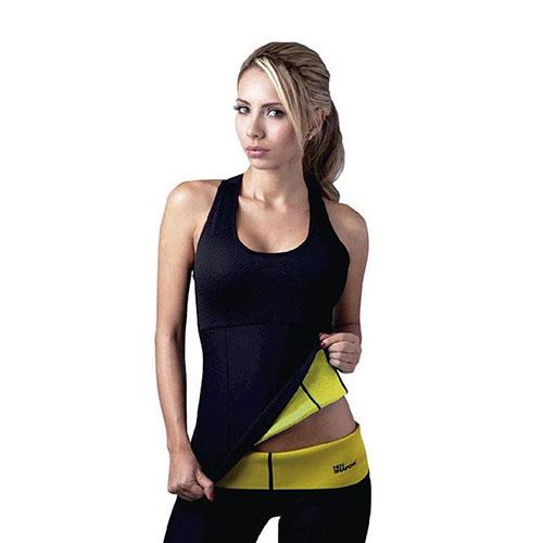 Майка для похудения Hot Shapers (Хот Шейперс), цвет черный, размер S