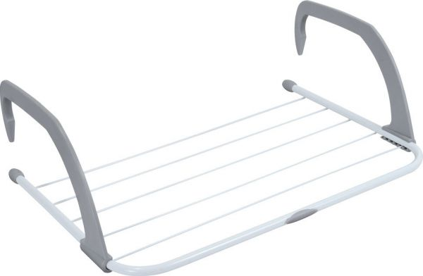 Многофункциональная навесная сушилка для белья Storage Skeleton Hanger, Светло-серый