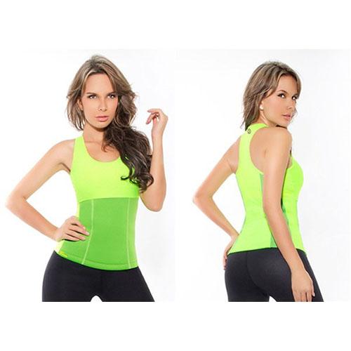 Майка для похудения Hot Shapers (Хот Шейперс), цвет зеленый, размер L