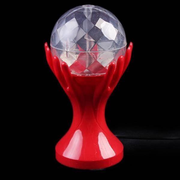 Декоративный LED-светильник Шар В Руках 18 см, Красный