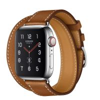 Apple Watch Hermes Series 5 40mm Fauve with Leather Double Tour