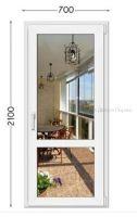 балконная дверь цена