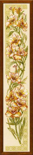 Набор для вышивания крестом Альстремерии №939 фирма Риолис