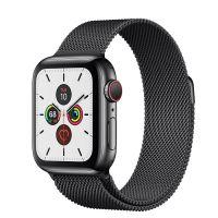 Apple Watch Series 5 40mm Stainless Steel Space Black Milanese Loop