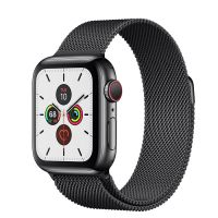 Apple Watch Series 5 40mm Stainless Steel Space Black Milanese Loop