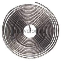 Припой с канифолью ПОС-61 O0.8мм спираль 1 метр REXANT