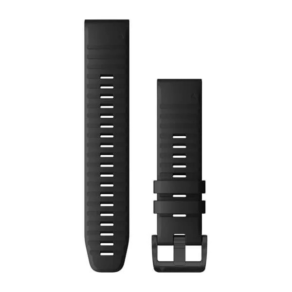 Ремешок сменный QuickFit 22мм силиконовый черный