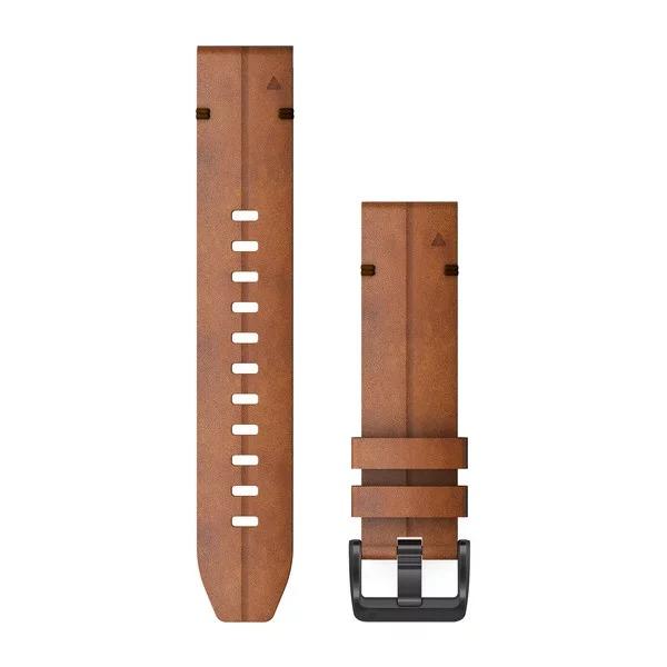 Ремешок сменный QuickFit 22мм коричневая кожа