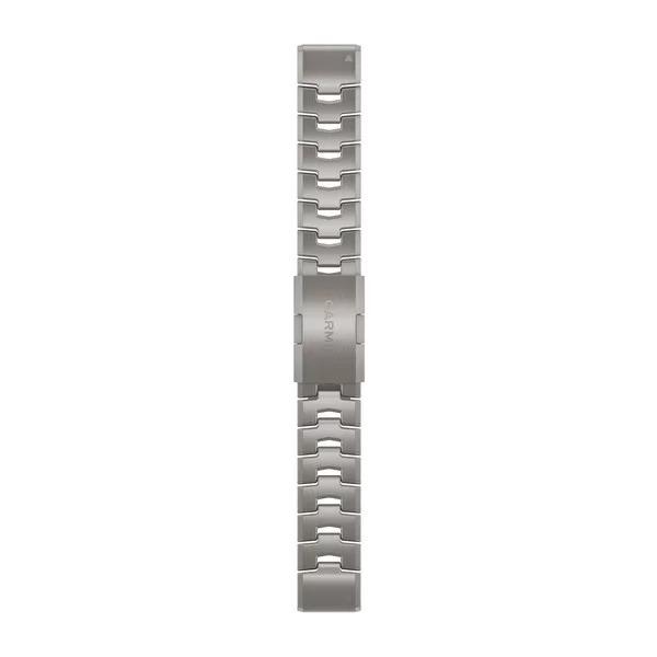 Ремешок сменный QuickFit 22мм титан светлый