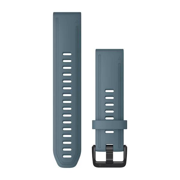 Ремешок сменный QuickFit 20мм силиконовый темно-синего цвета