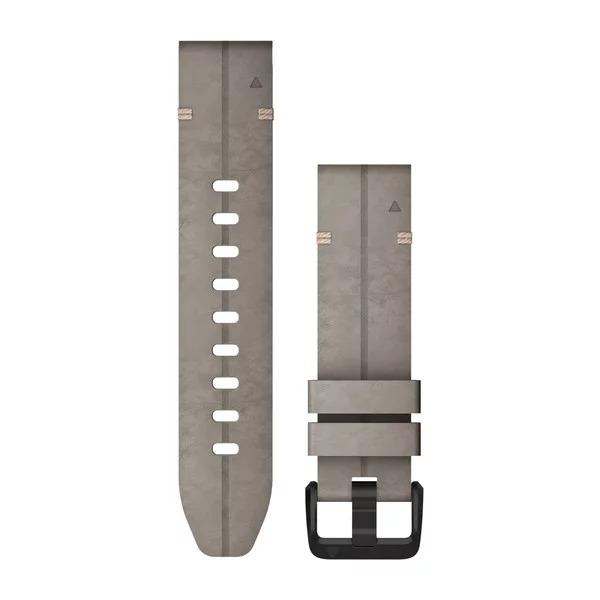 Ремешок сменный QuickFit 20мм замшевый серый сланец