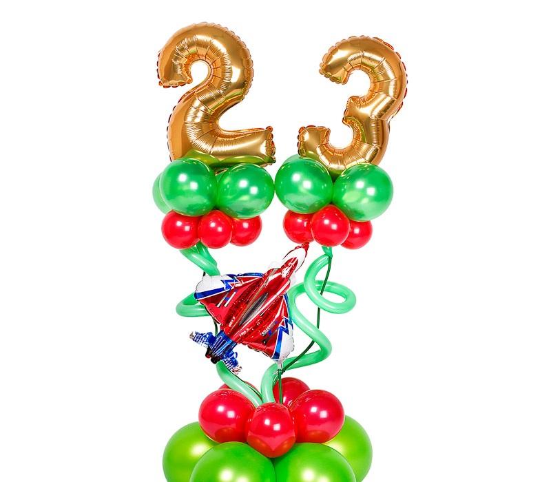 Композиция 23 с малыми цифрами