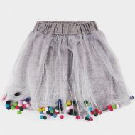 Фатиновая юбка для девочек 2-6 лет BNT439 серая