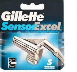 Лезвия Gillette Sensor Excel  (5шт)