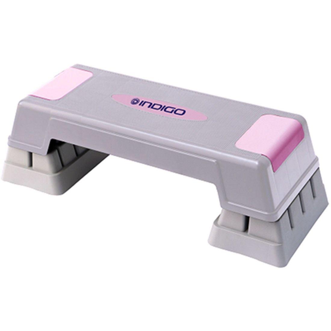 Степ-платформа для аэробики 3 уровня INDIGO IN170