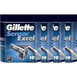 Лезвия Gillette Sensor Excel  (40шт)