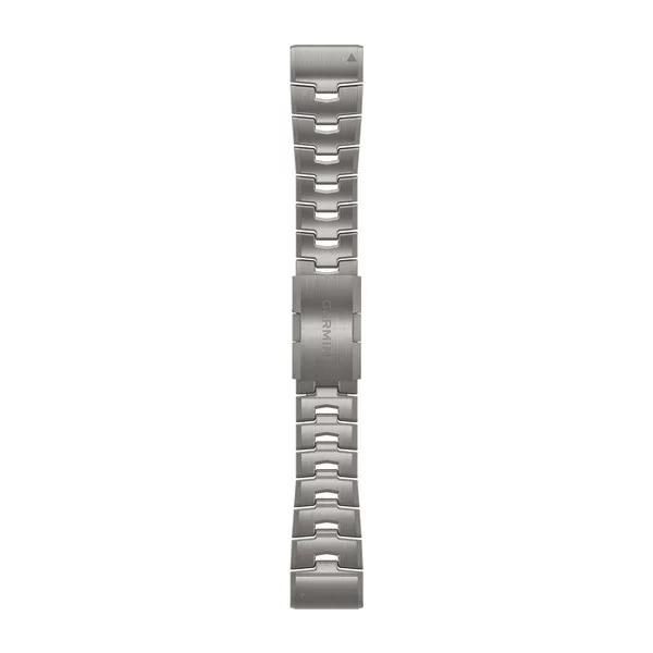 Ремешок сменный QuickFit 26мм титан светлый