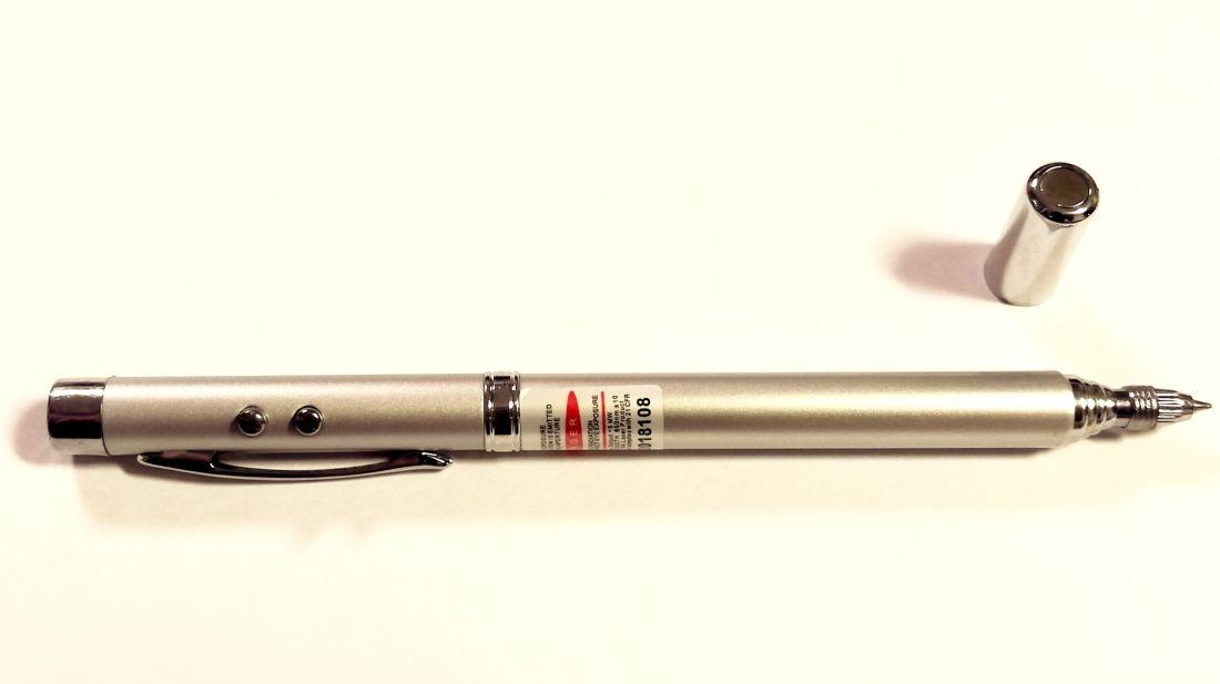 Ручка указка магнит фонарик лазер