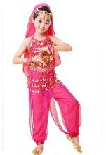 Восточные танцы костюм детский танцевальный Розовый