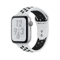Apple Watch Series 4 Nike+ 40mm Silver Aluminum Case with Pure Platinum/Black Nike Sport Band