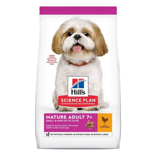 Hill's Canine SP Mature Adult 7+ Active Longevity Small&Miniature Chk