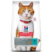 Hill's Feline Young Adult Sterilised Cat Tuna - Для стерилизованных кошек с тунцом (10 кг)