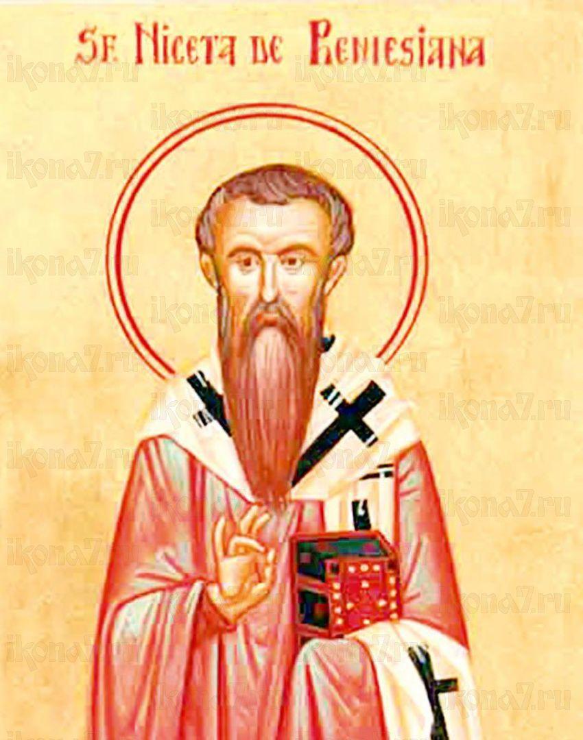 Икона Никита Ремесианский  святитель