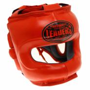 Шлем боксерский LEADERS LS RD с бамперной защитой
