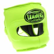 Шлем боксерский LEADERS GRN с бамперной защитой