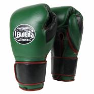 Перчатки боксерские LEADERS Super Series CUSTOM GRN/BK