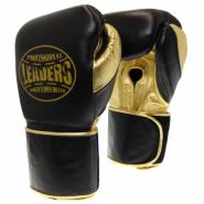 Перчатки боксерские LEADERS LeadSeries Limited BK/GD