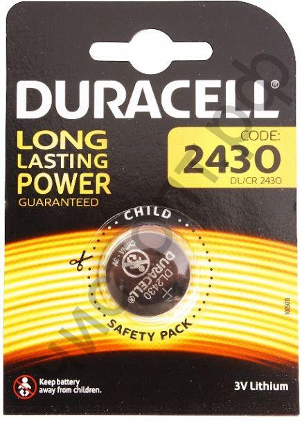 Duracell CR2430  1BL