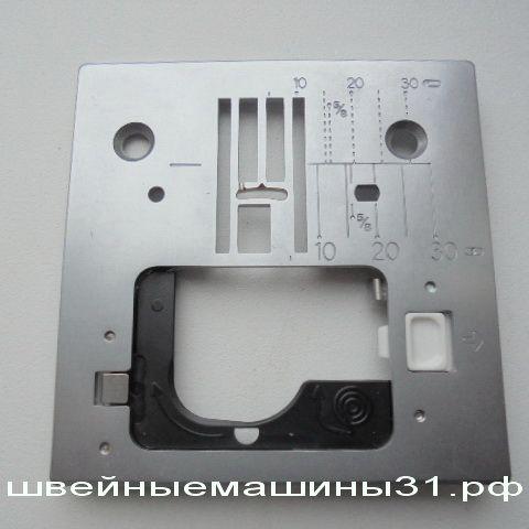Игольная пластина JUKI HZL 61E, 80E и др. (A1109-E80-0A0A)   цена 2000 руб.