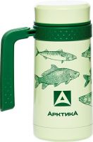 Термокружка для напитков Арктика серии 412-500 зелёная