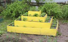 Клумба К- пирамида цвет К-120 К-80 К-40