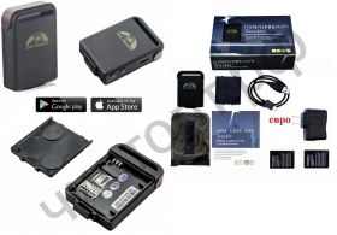 GPS трекер OT-GPS02 (GPS + Beidou + LBS) 2*BL-5B (800mA)