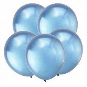 """Синий, Зеркальные шары, 12"""", 50 шт (Турция)"""