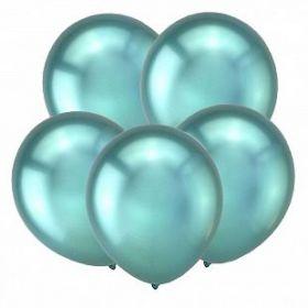 "Зеленый, Зеркальные шары, 12"", 50 шт (Турция)"