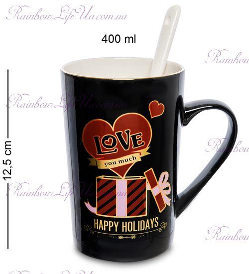 """Чашка с ложкой """"Love"""""""