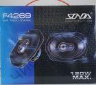 Автоколонки SONDA F4269 6x9sm, Мощность 120w, (Оригинал) решетки в комплекте (2шт)