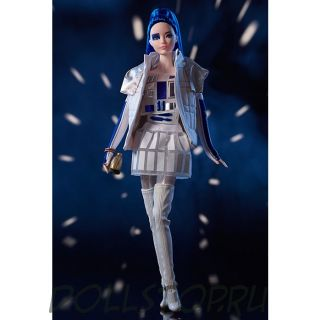Коллекционная кукла Барби R2R2 из Звездных войн - Star Wars R2D2 x Barbie Doll