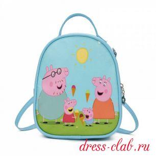 Рюкзак детский кожзам