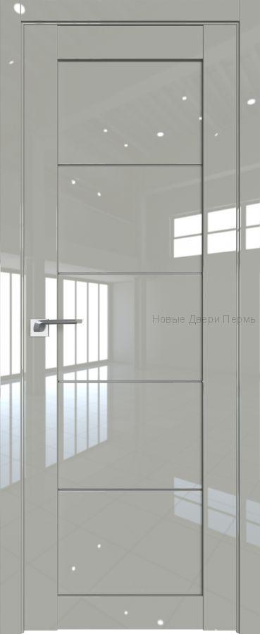 2.11L Галька люкс глянцевая дверь - PROFIL DOORS двери