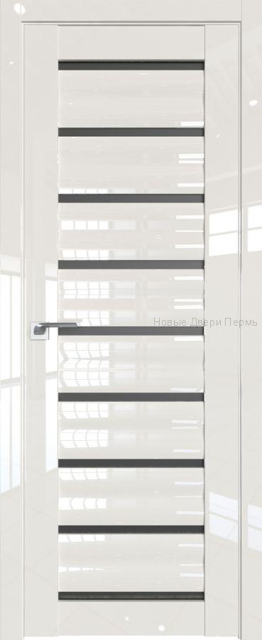 76 L Магнолия люкс глянцевая дверь - PROFIL DOORS двери
